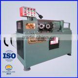 Low price Commercial two axles bar hydraulic thread rolling machine