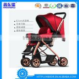red color aluminum alloy baby strollers,high quality aluminum baby strollers