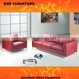 Cheap sofa set red color 8015