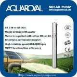 Solar Pumping Systems - Boreholes,Wells,Irrigation DC solar well pumps - 4SP8/5(Integrated Type)