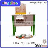 Children play wooden hot products 2014 wooden play kitchen