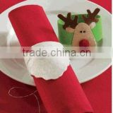 alibaba express best high quality table decoration new products custom fabric felt cheap bulk napkin ring made in china