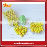 Lovely Apple &Jujube Shape Fruity Flavour Bubble Gum Candy