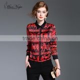 Maxnegio blouse designs for office open hot sexy girl photo chiffon blouse women top designer blouse back neck designs