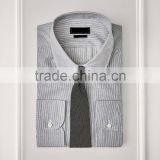 Trendy tailor made tuxedo wedding men's bespoke shirt
