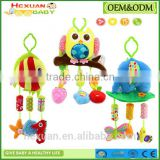 New Baby toys Butterfly ladybug owl large-sized wind chimes