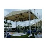 Retractable Aluminum Global Stage Roof Truss System / Lighting Truss Lift Global Trussing