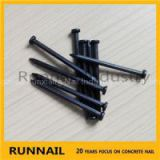 Blue Grooved Concrete Nails, Fluted Shank, Flat Head, Blue Surface, Strong Rust-Proof, 20 Ages Factory