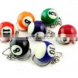 Fashion New Billiards Ball Keychain Couple Valentine's Day Gift