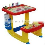 Plastic activity desk