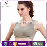 Manufacturer Latest Fashion Young Girl White custom sports bra