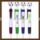 Football tip with rubber grip football plastic pen