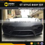 970 CT Style Body Kit FRP Bumper Kit Body Kit For Por Panamera 970 2010-2013 for sale