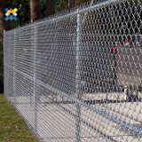 Vinyl Coated Chain Link Fence Construction 1.0-3.0mm Wire DiameterPVC Coated 9 Gauge Heavy Duty Chain Link Fencing Quick To Install