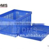 820*550*420 EU4# PP plastic foldable turnover basket for fruit and vegetable                                                                         Quality Choice