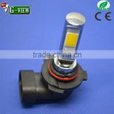 China car led factory 9006 led bulb 18w yellow color white color 3400k 6000k h7 h8 h11 9005 /6 led car light