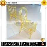 Polycarbonate Pc Clear Acrylic Phoenix Chair For Event Wedding