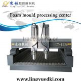 Factory supply LY1520 foam cnc engraving machine with two heads/foam cnc engraving machine from China