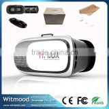 Google cardboard VR BOX 2.0 Version 2 VR Virtual Reality Glasses Smart Bluetooth Wireless Mouse Remote Control Gamepad, vr box                                                                         Quality Choice