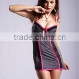 Newest arrival fashion mature cowboy color short babydolls lingeries 5159