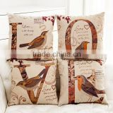 Wholesale (#CC008) Fashion Linen Cotton Bed Sofa Throw Pillow Case Cushion Cover