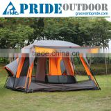 10 Person 2 Room Family Camping Playhouse Large Family Outdoor Party Beach Sun Folding Canopy Tent