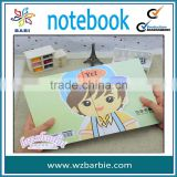 coated paper cover cartoon notebook