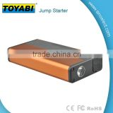 12000mAh jump starter for 12V/24V gasoline and diesel car for emergency use and power bank