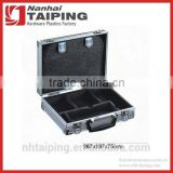 Professional Silver Aluminum Tool Carry Case Metal Box with Panel                                                                         Quality Choice