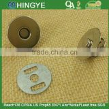 18mm Metal Magnet Rivet Snap Fastener Button For Handbag -- 15746