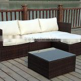 NEW RATTAN WICKER CONSERVATORY OUTDOOR GARDEN FURNITURE SET CORNER SOFA TABLEs                                                                         Quality Choice