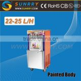 Newly Ice Cream Machine/Flat Pan Fried Ice Cream Maker Machine/Italian Ice Cream Machine (SY-IC25A SUNRRY)