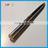 High Quality Company Promotion Gift Heavy Epoxy Top Metal Ball Point Pens in twist action
