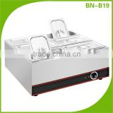 BN-B19 Countertop Soup Warmer/ Electric Commercial Bain Marie for Hotel & Restaurant