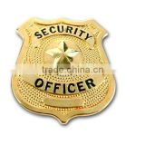 High-end custom metal badge brooch welcome to map production Alice