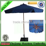 promotional wooden garden umbrella