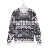 Xmas Online Shopping Digital Print Winter Dots Custom Hoodies Wholesale