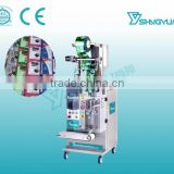 Low cost and high qulity liquid packing machine for plastic water bag filling sealing/sachet liquid shampoo packaging machine