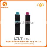Pay attention ! new style hot-selling square good quality empty cosmetic black eyeliner bottle