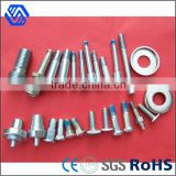 Custom made high quality clear 20 micron anodized aluminum cnc parts