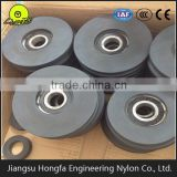 large rope cable pulley wheels