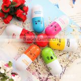 Novelty Telescopic Vitamin Capsule cute pens                                                                         Quality Choice