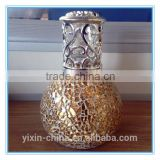 Aromatherapy Fragrance Lamp15/Oil lamp with wick/Mosaic glass oil burner/Home decoration