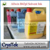 CRYSTEK Konica print head Allwin / TOYO solvent ink for large format solvent printer