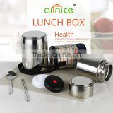 Amrica market Pure 304 Vacuum insulation protable large capacity stainless steel lunch box food container