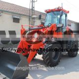 WOLF farm machinery wheel loader with screening bucket, wheel loader zl28 model for sale