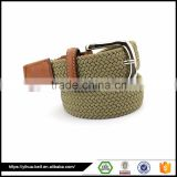 Braided Elastic Men Stretch Belt for Fashion Accessories