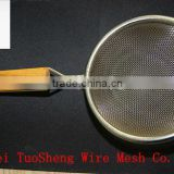 high quality stainless steel double ears tea strainers/tea or coffee filter mesh/10cm filter mesh(factory)