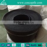 Graphite filled ptfe sheet black skived roll ptfe sheet