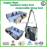 mom bag baby outdoor sleep bed removable portable folding bed baby changing bed wholesale